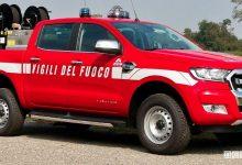Auto Vigili del Fuoco, nuovo Ford Ranger pick-up 4x4