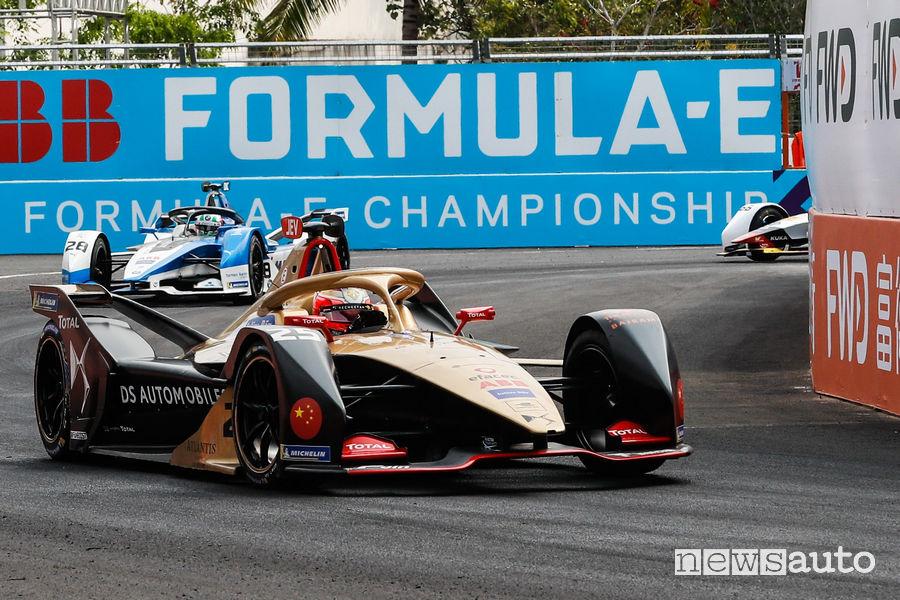 Formula E 2019 Sanya e-Prix, Vergne DS Techeetah