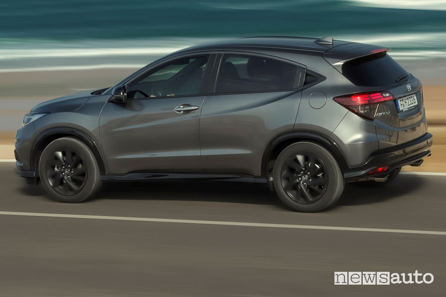 Honda HR-V 2019, vista laterale