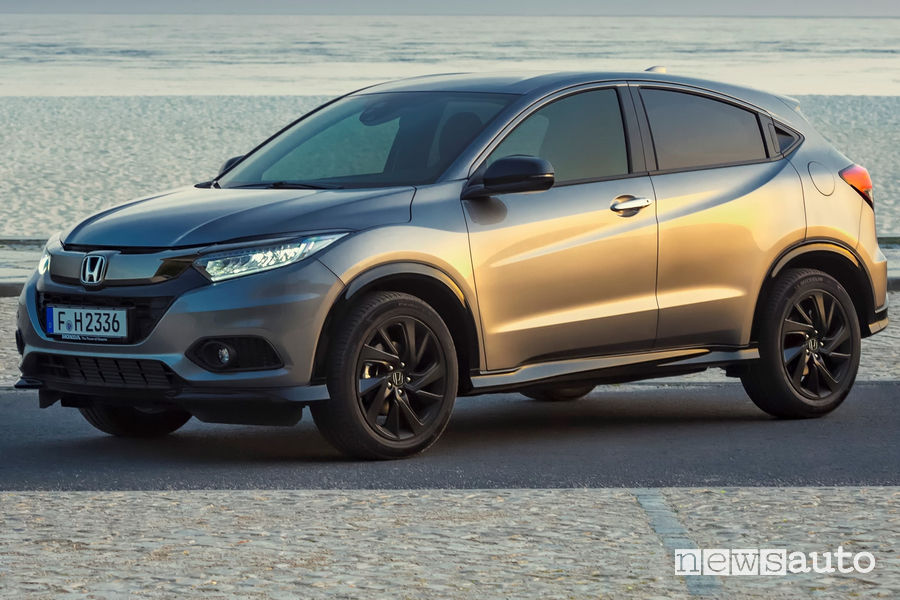 Honda HR-V 2019, vista di profilo