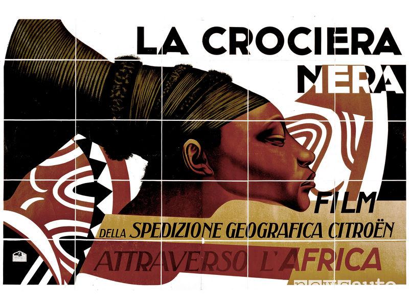 Joséphine Baker André Citroën locandina Film La Crociera Nera