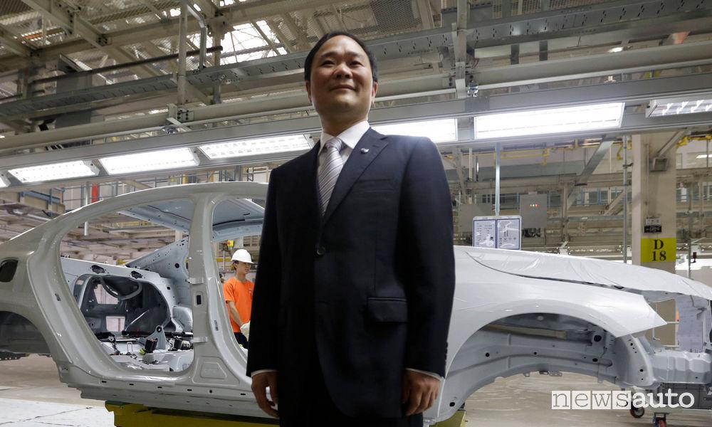 Li Shufu, Chairman di Geely Holding
