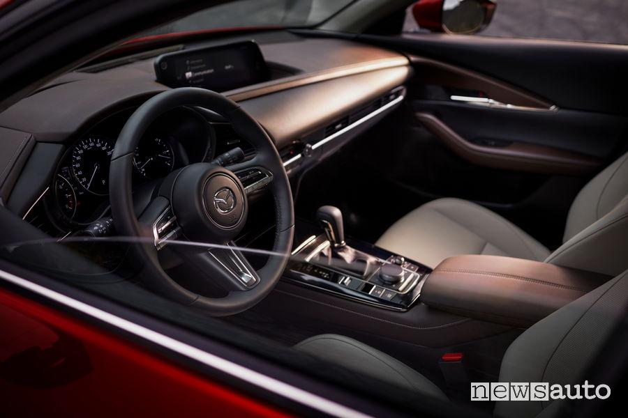Mazda CX-30, abitacolo