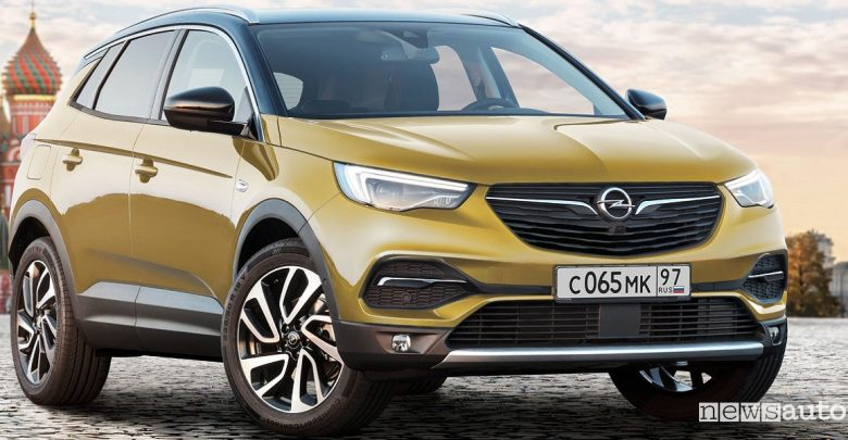 Opel Grandland-X in Russia