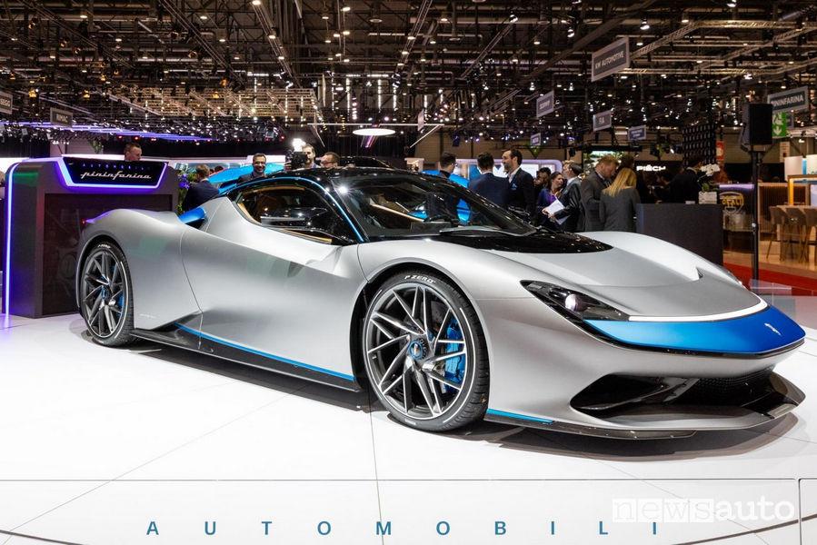 Pinifarina Battista supercar Ginevra 2019