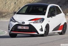 Toyota yaris grmn inserimento curva assetto auto sportiva