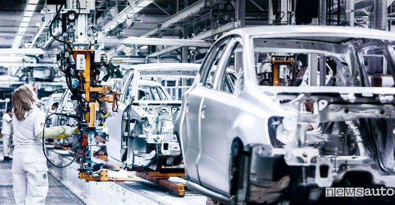 Volkswagen e Amazon produzione auto