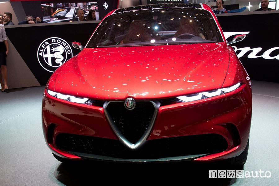 Alfa Romeo Tonale Ginevra 2019, frontale