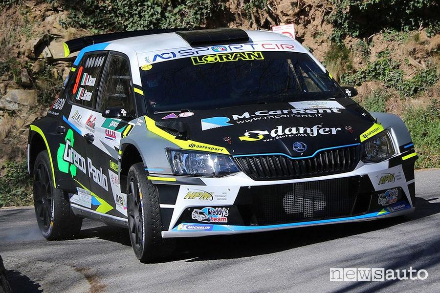 Classifica Rally il Ciocco 2019, Skoda Fabia R5 Giandomenico Basso