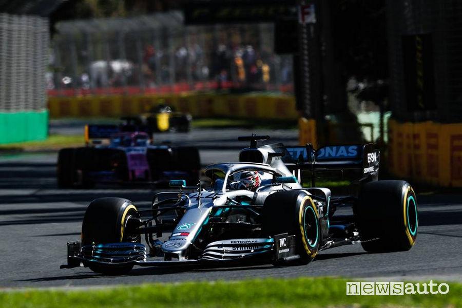 F1 2019 gara Australia Mercedes Lewis Hamilton