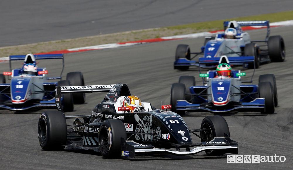 Charles Leclerc Formula Renault 2.0