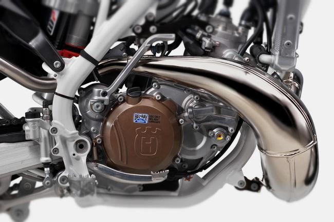 motore a 2 tempi moto Husquarna