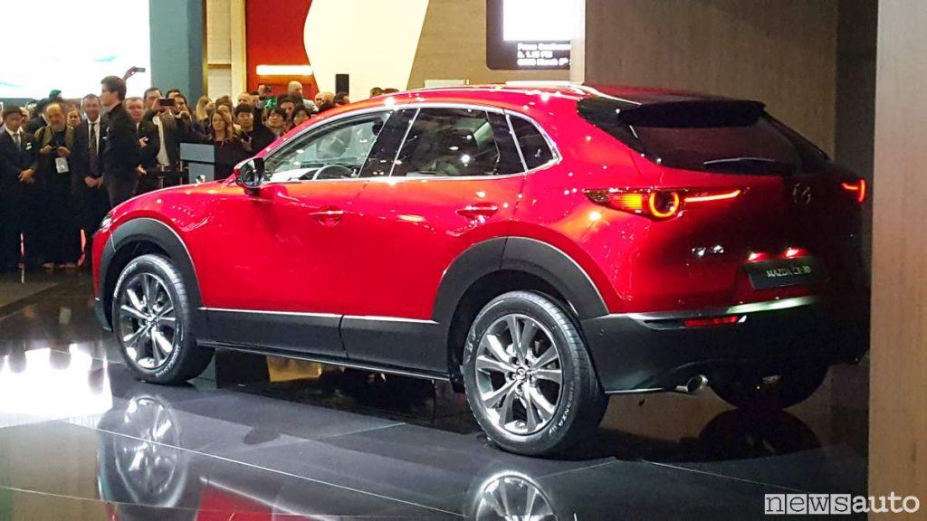 Mazda CX-30 al Salone di Ginevra 2019