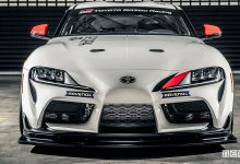Photo of Toyota GR Supra GT4, auto da corsa in pista nel 2020