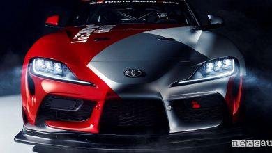 Toyota GR Supra GT4, nuova auto da corsa Ginevra 2019