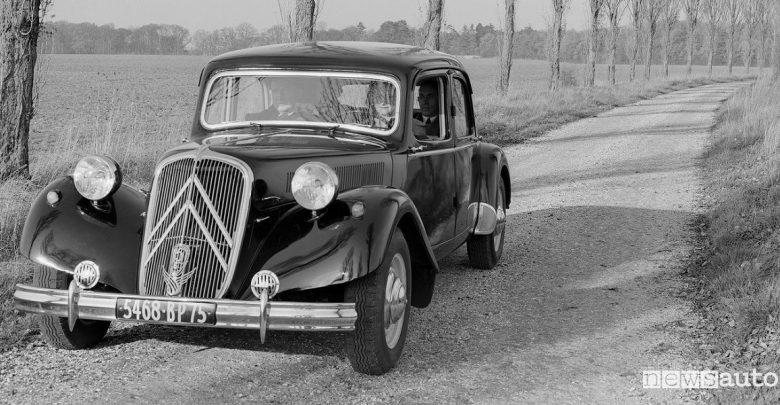 100 anni di Citroën Traction Avant