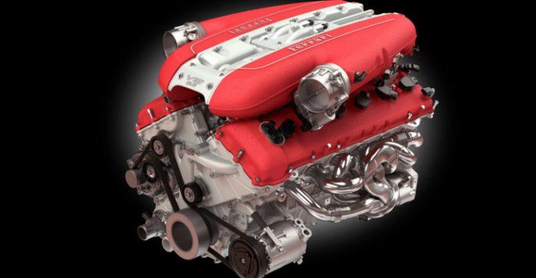 Motre Ferrari V12 aspirato