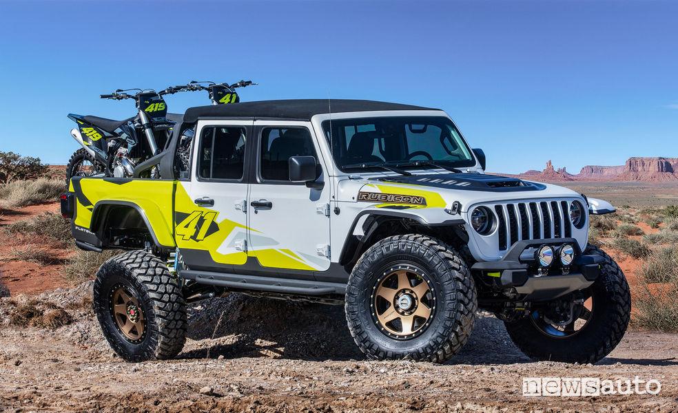 Jeep Flatbill vista di profilo