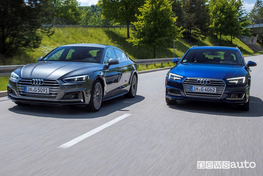 Audi A5 Sportback g-tron e Audi A4 Avant g-tron