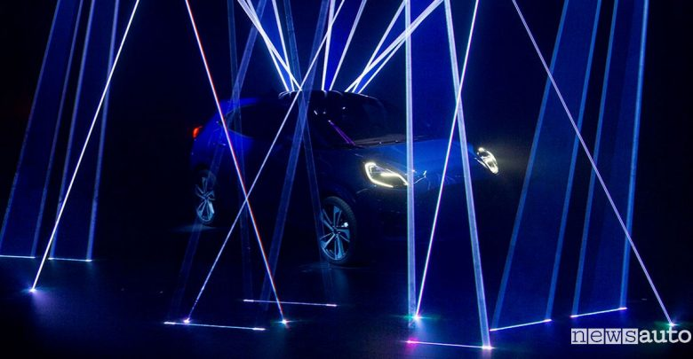 Ford Puma teaser crossover mild-hybrid