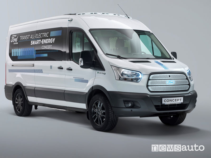 Ford Transit Smart Energy Concept vista di profilo