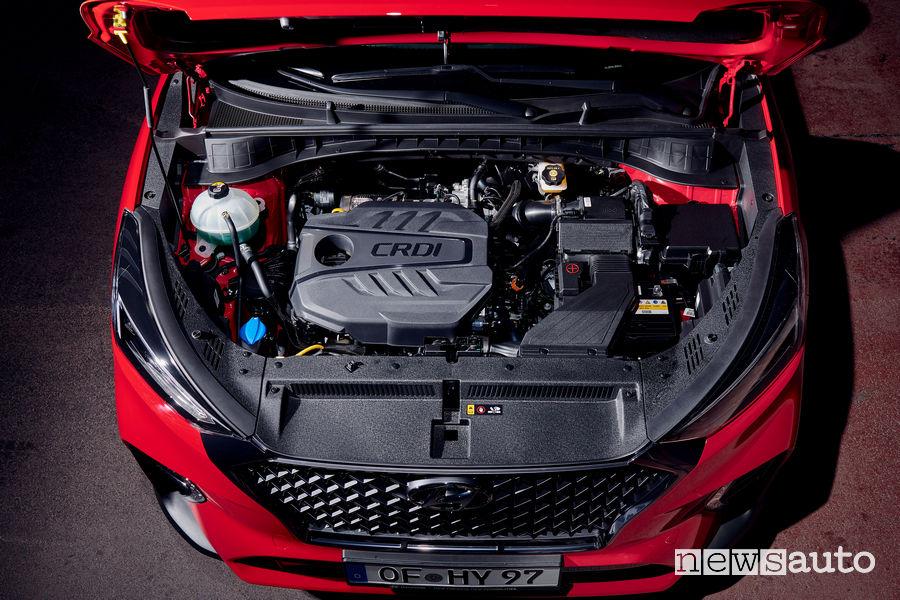 Hyundai Tucson N Line vano motore