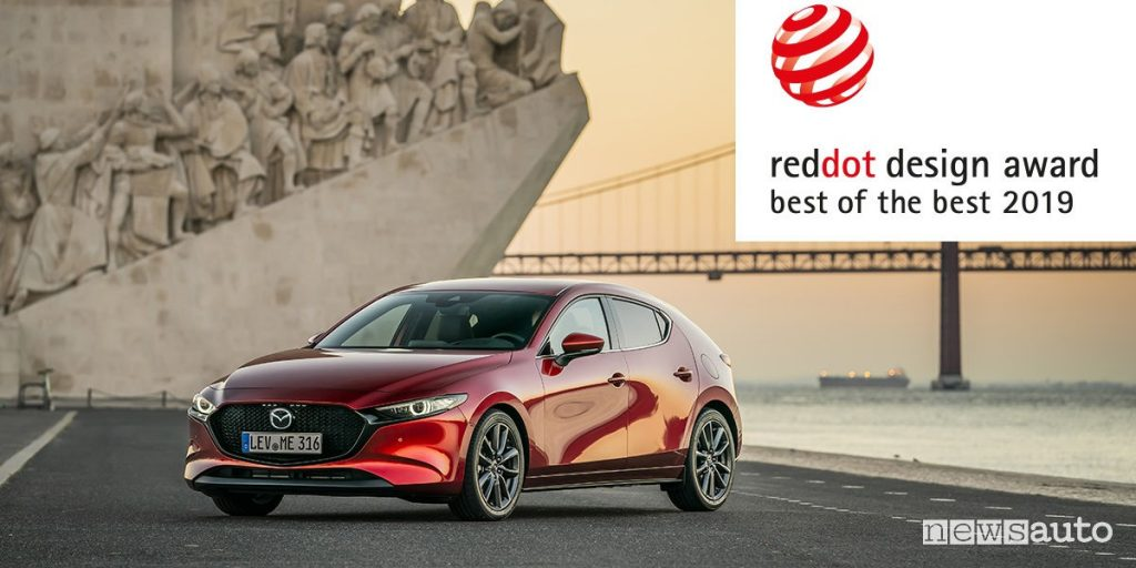 Premio Red Dot 2019, vince la Nuova Mazda3