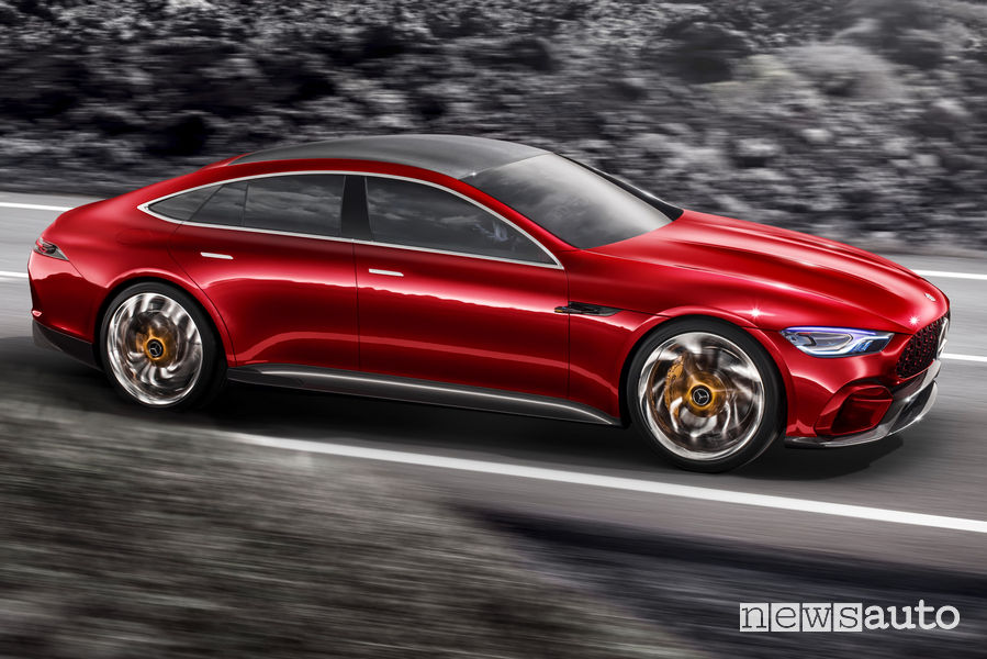 Mercedes-AMG GT Concept vista laterale