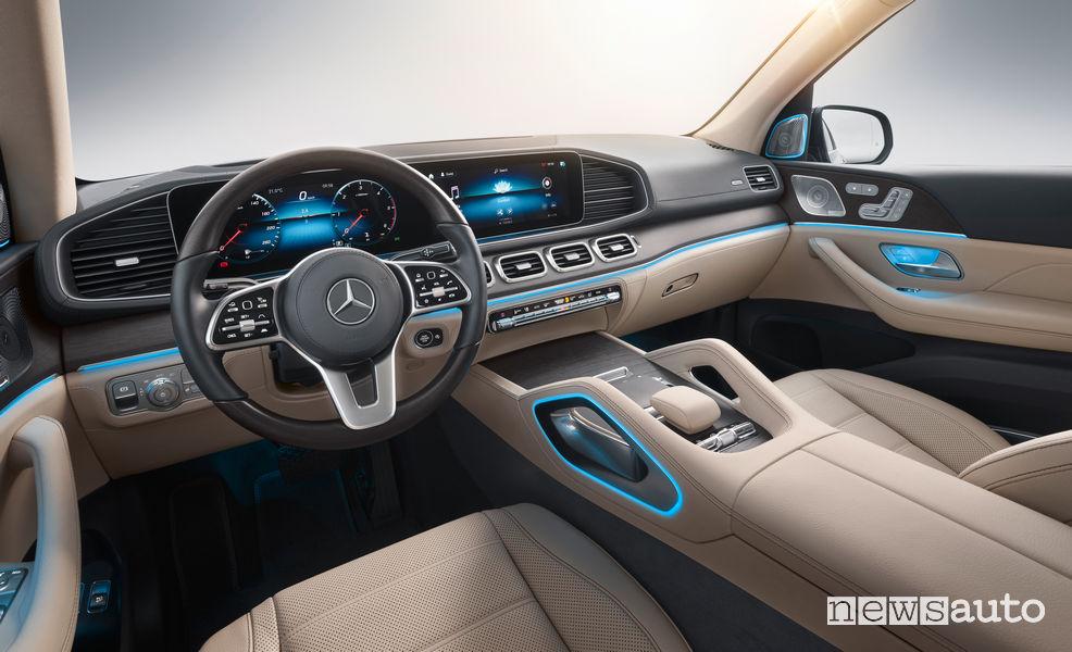 Mercedes-Benz GLS 2019 plancia strumenti