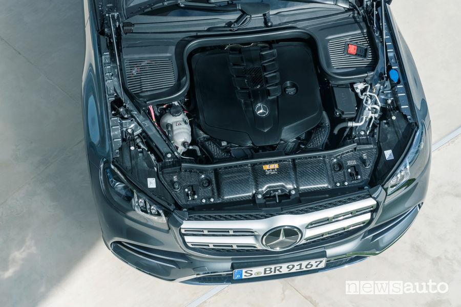 Mercedes-Benz GLS 2019 AMG Line vano motore