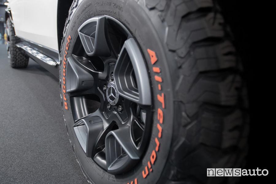 Mercedes-Benz Concept GLB pneumatici BFGoodrich All Terrain