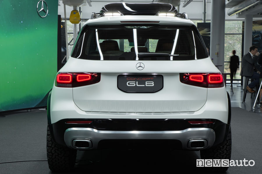 Mercedes-Benz Concept GLB posteriore