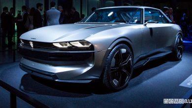 Peugeot e-Legend, anteprima alla Milano Design Week 2019