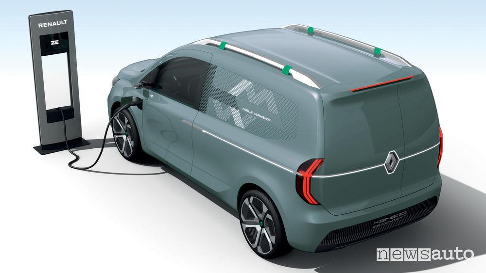Auto elettrica Show-car Kangoo Z.E. Concept