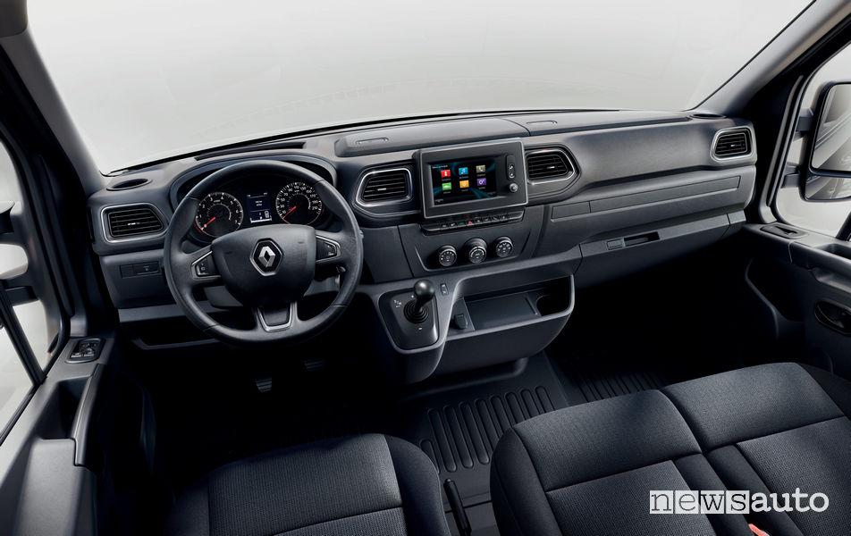 Nuovo Renault Master 2019 abitacolo