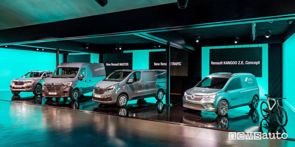 Nuova gamma veicoli commerciali Renault