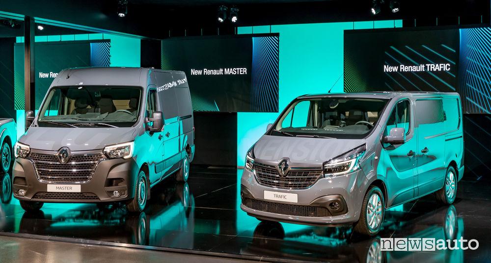 Nuovi Renault Trafic e Master 2019