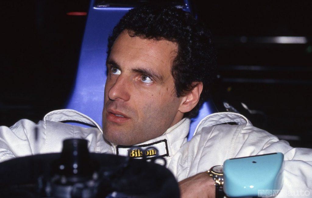 Roland Ratzenmberger pilota F1 deceduto ad Imola 30 maggio 1994 il giorno antecedente a quello di Senna