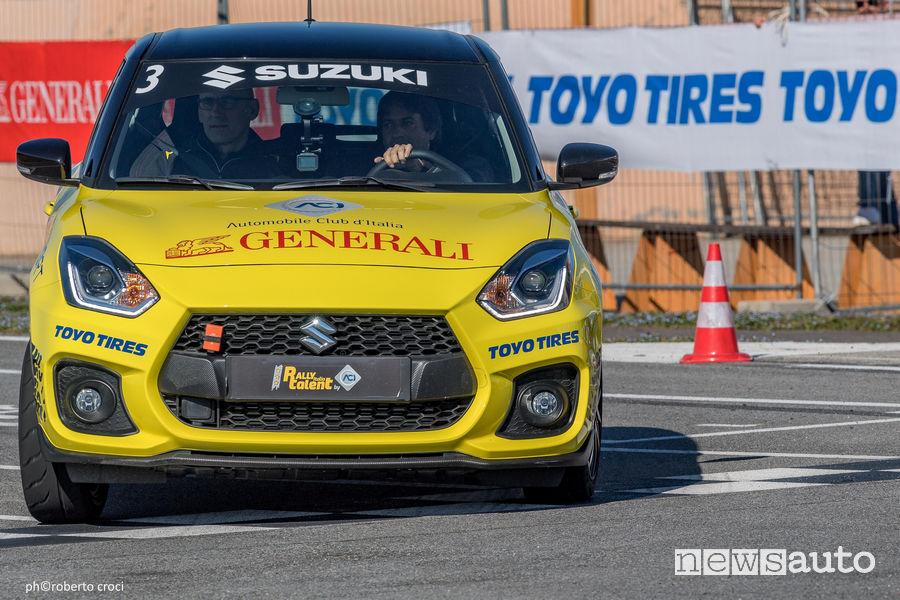 Suzuki Rally Italia Talent nel 2019 Busca (CN)