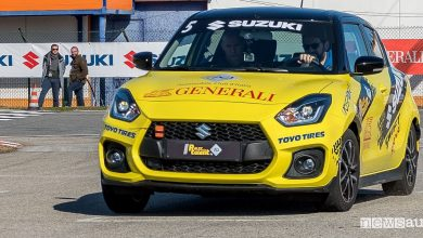 Photo of Suzuki Rally Italia Talent 2019, in pista con la Swift Sport