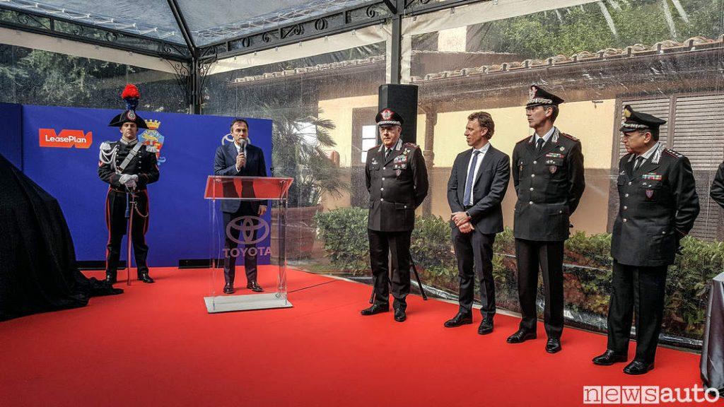 Mauro Caruccio – Amministratore Delegato di Toyota Motor Italia Toyota_Yaris_carabinieri