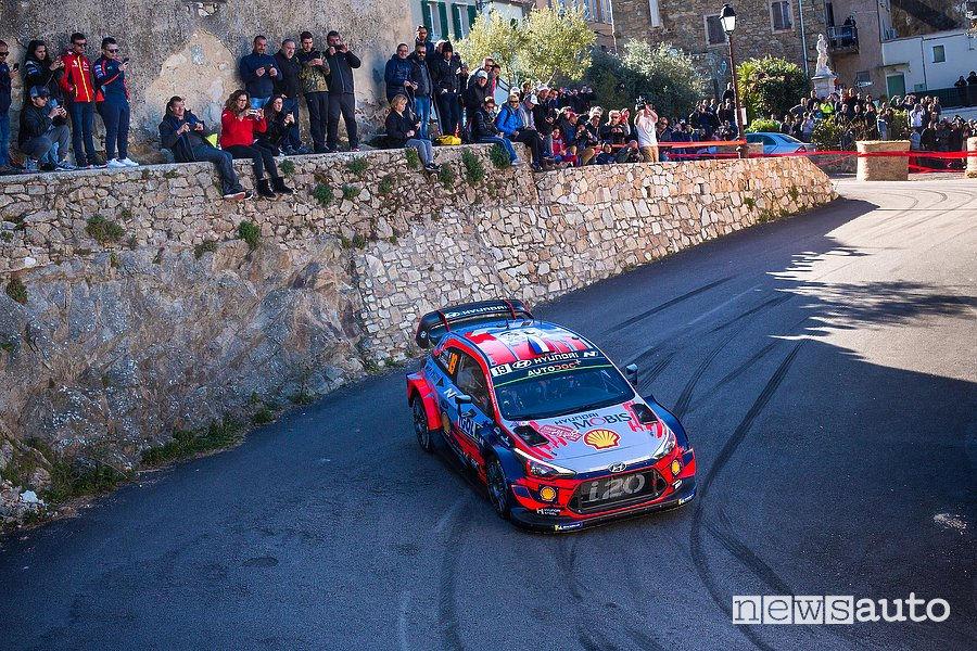 WRC 2019 Rally di Francia Loeb Hyundai i20