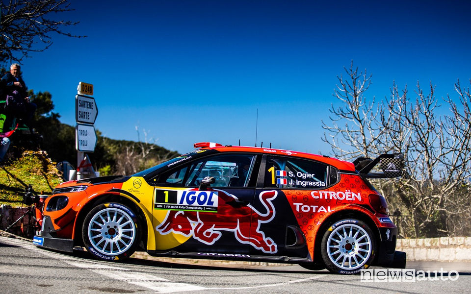 WRC 2019 Rally di Francia Ogier Citroën C3