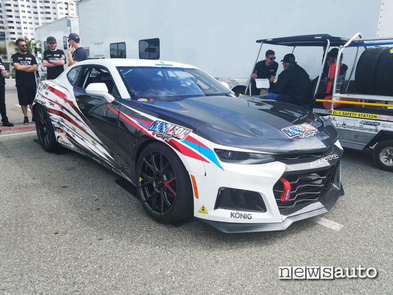 Chevrolet Camaro EL1 auto elettrica da corsa per gare drift