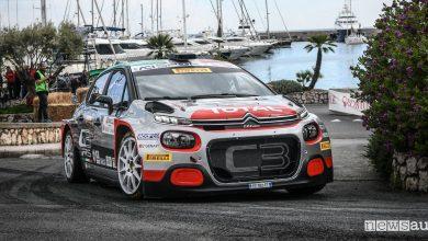 Classifica Rally Sanremo 2019, quarto posto Citroën