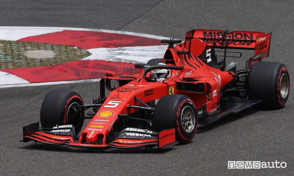 F1 Gp Cina 2019 Ferrari SF90 Sebastian Vettel