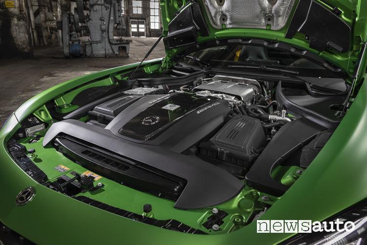 Mercedes AMG GT 2019 AMG GT R motore