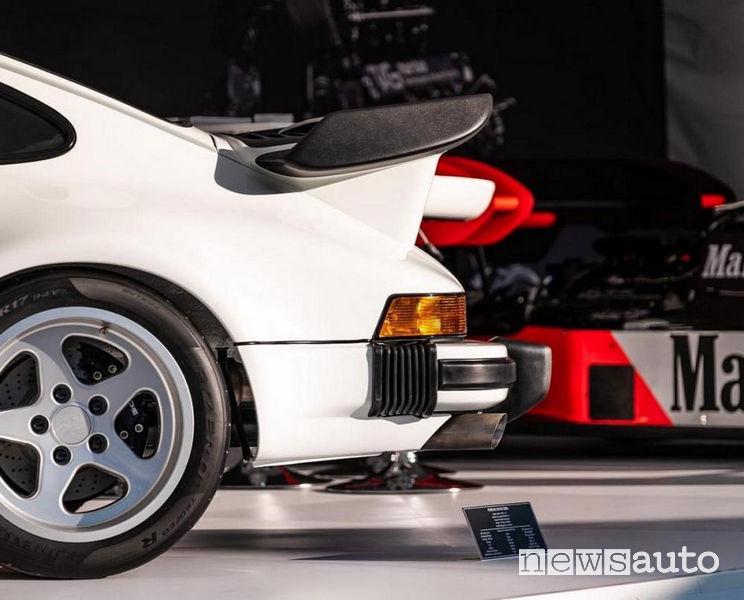 Porsche con motore Formula 1 posteriore