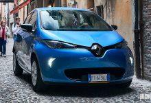 Noleggio auto elettriche Renault Zoe Ferrara