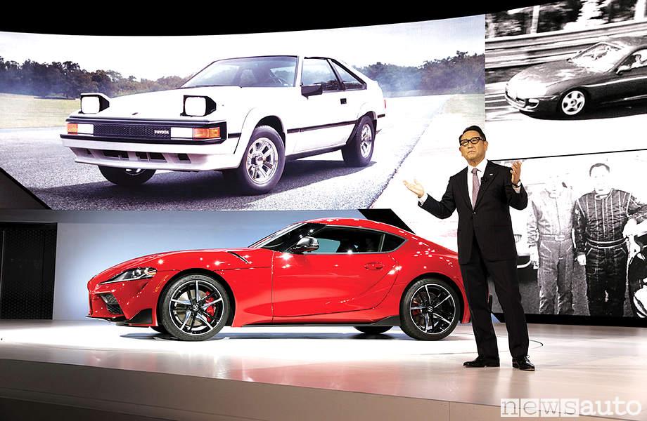 Akio Toyoda - presidente della Toyota Motor Corporation